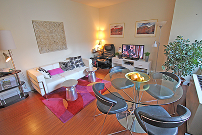 Fantastic furnished 1 bedroom in an excellent location, 57th street, plus healthSpan club with swimming pool in 24-hour-white-glove doorman building.