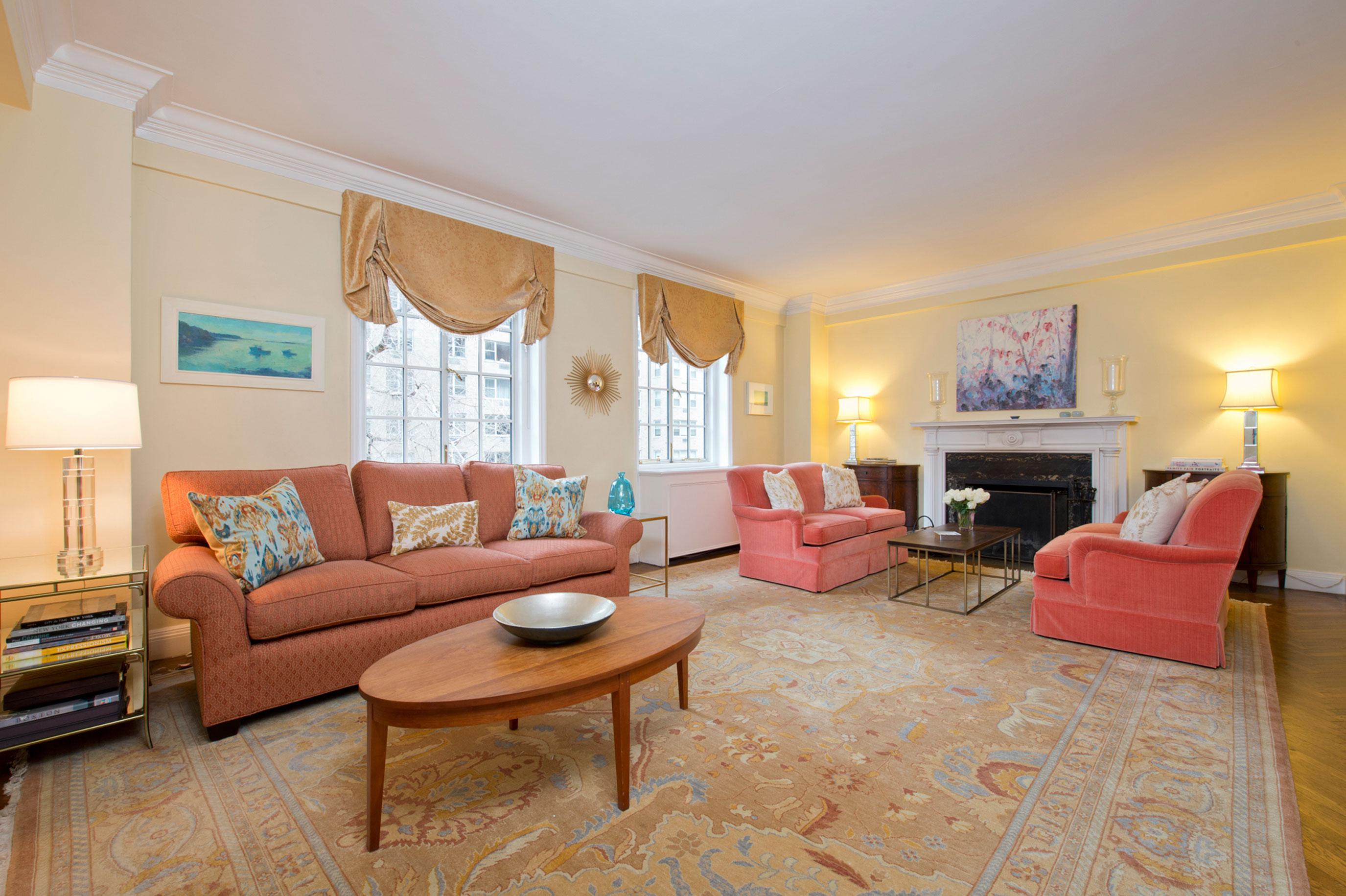 520 east 86th street 4c upper east side new york for Living room 86th st