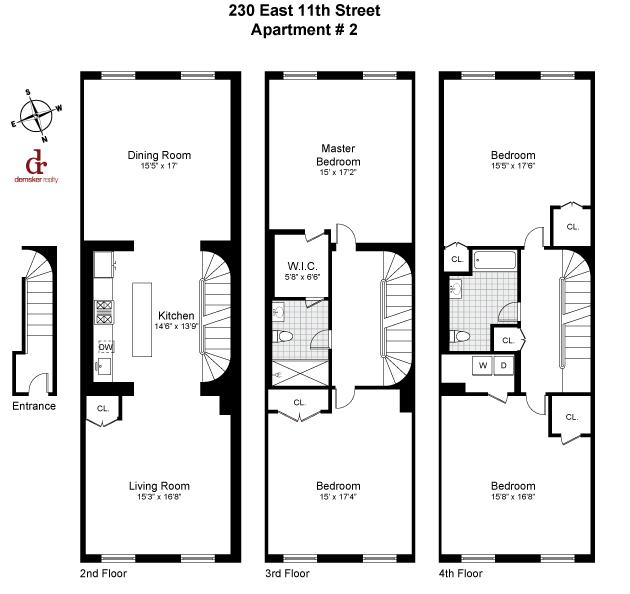 230 e 11 st new york ny 10003 apartable for 100 church street 8th floor new york ny 10007